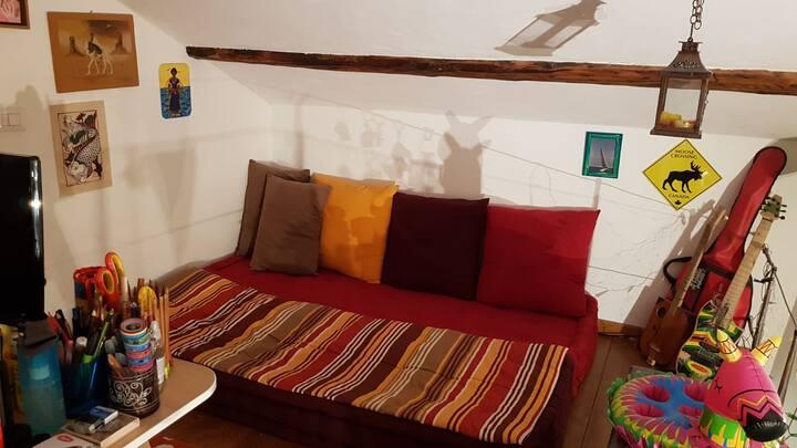 Camera indipendente soppalcata, Parco Delta del Po