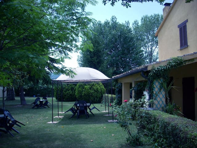 House with pool and garden close to Assisi - Cannara - Huis