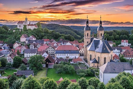 Room with sensational view of Castle and Basilica. - Gößweinstein - House - 2