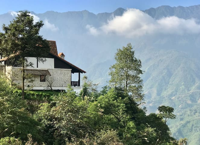 Panorama view -DUPLEX STONE VILLA by the valley