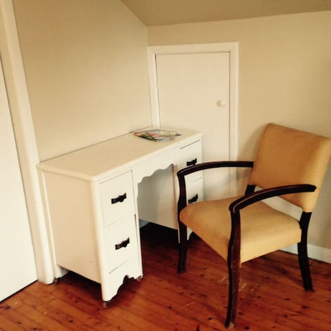 Vanity in your room - great for getting ready for the day or sitting and waiting while your travel partner gets ready!