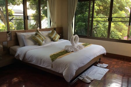 Homely Style Family Studio for 4 people - Chiang Mai - Apartamento