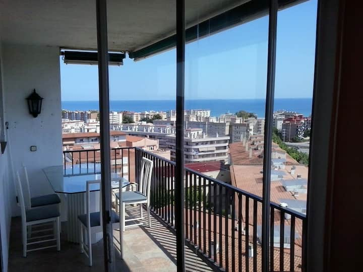 Torredembarra Penthouse with view