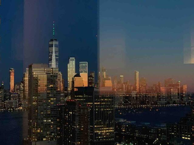 맨하탄까지 10분거리 럭셔리아파트