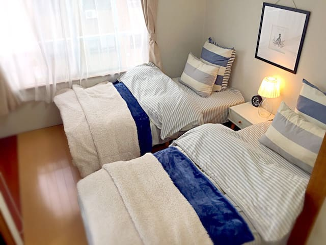 Wonderful location Clean,comfortable, cozy room☆ - Kanazawa-shi - Lejlighed