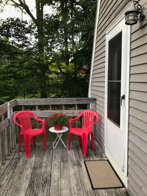 Your porch and entry way