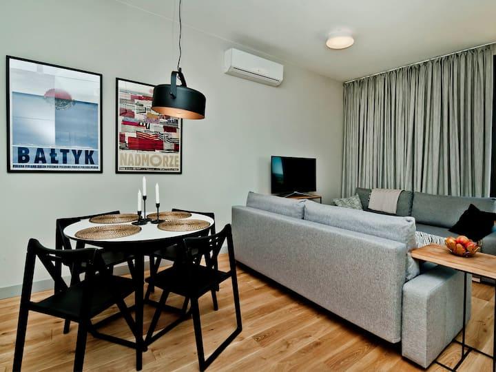 Seaview apartment/Widokowy z tarasem ZK 6