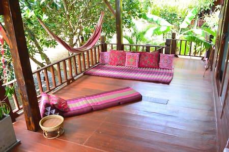 ROMANTIC SEAFRONT & SUNSET VIEW HOUSE HIN KONG BAY - Tambon Ban Tai - Dom