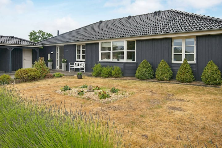 Alluring Holiday Home in Ebeltoft with Whirlpool