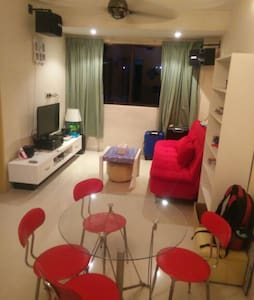 Cozy 2 Single Beds Room for Travellers - Bayan Lepas
