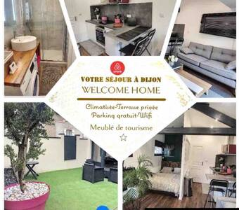 """""""Welcome Home""""Maison+terrasse/Climatisée"""