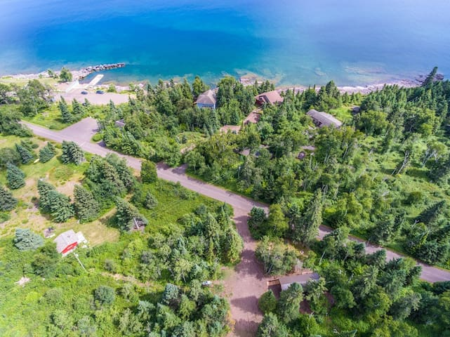 While not located directly on Lake Superior, lake access is nearby at beautiful Tofte Park.