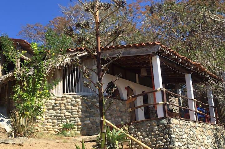 "Beautiful ""LUNA"" room at Casa Mixtli in Zipolite"