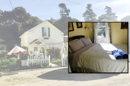 Bridge St. Inn upstairs private room w/ double bed - Cambria - Διαμέρισμα