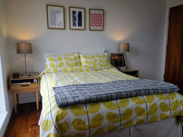Clean, comfortable double room