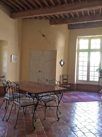 Chambre dans hôtel particulier - Bourg-Saint-Andéol - Appartement