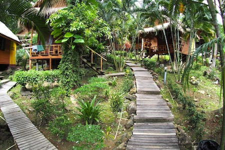 Cosy Bungalow with Modern Bathroom - Koh Chang Tai - Domek parterowy