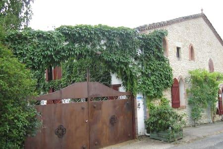 Grande Maison de campagne (grange rénovée) - Fossés-et-Baleyssac - Rumah