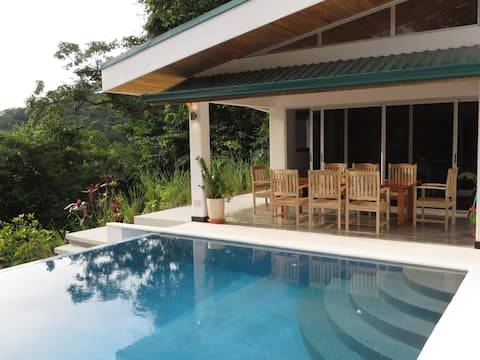 New Hill top Home with a Beautiful Tropical View