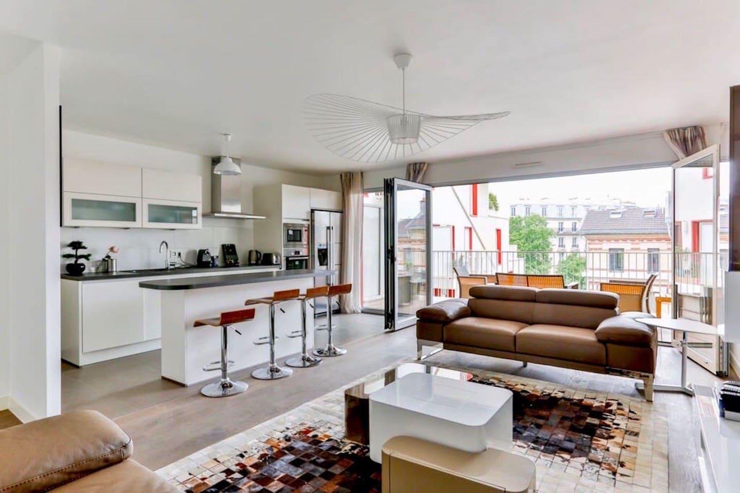 Pont Cardinet - Living-room