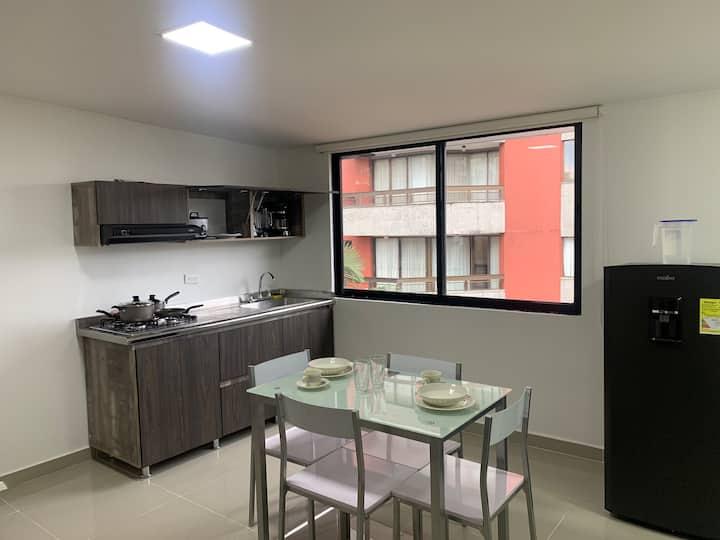 Apartamento de lujo para 2 o 3, Centro de Pereira