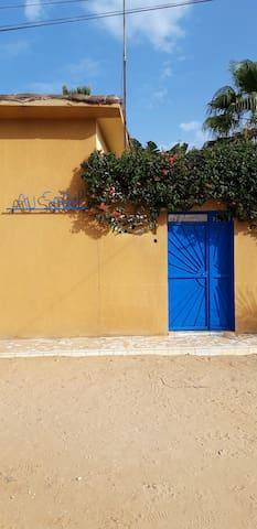 Entrée Villa Au Soleil