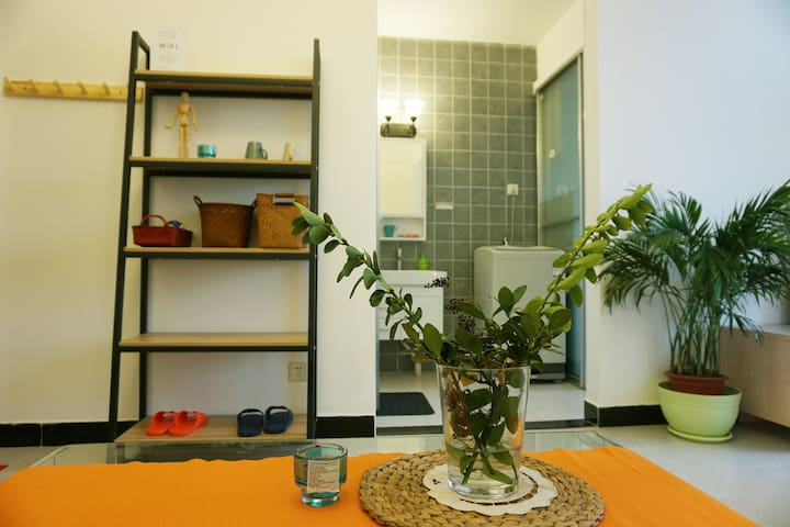 老租界/市中心 /江汉路步行街地铁站3分钟 /公寓B - Wuhan - Appartement