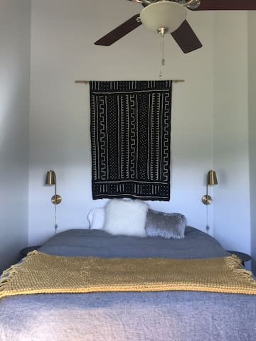 Private bedroom at Humboldt Valley Ranch