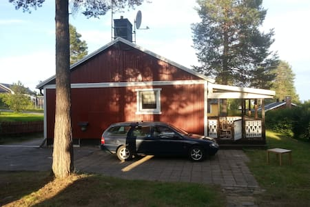 Old Backpackers house in Jokkmokk, smaller room - Jokkmokk - Villa
