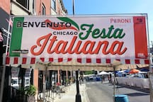 Take a short walk to Chicago's Little Italy!