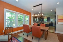Original 1940 hardwood floors and shiplap walls and updates like recessed, dimmable lighting and a fully loaded chef's kitchen ensure you have everything you need.