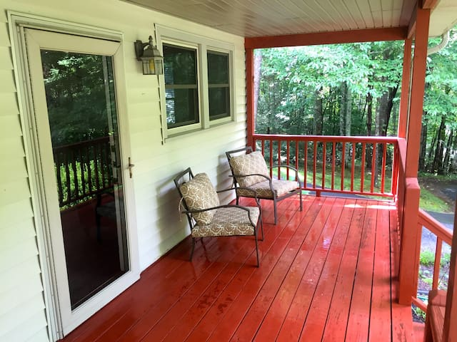 """The Front Porch"" Pvt. Apt. Black Mountain"