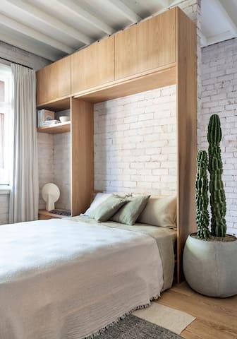 Bedroom 4 - Bismarck Apartment with bed down