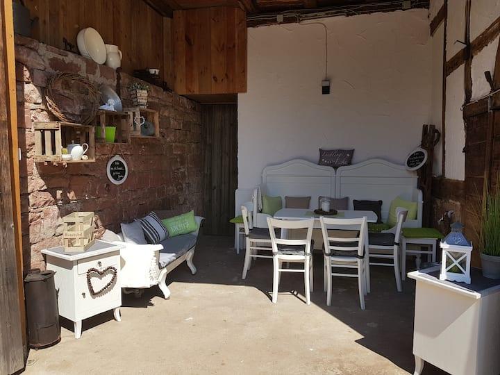 Ferienhaus Nr. 10 (Bürgstadt), Ferienhaus Nr. 10 (68qm) mit WLAN und Küche