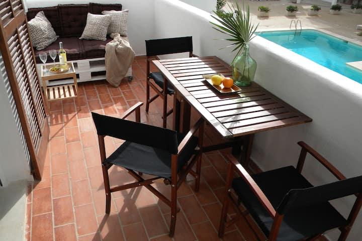 Lovely Studio just steps from Cala Esmeralda