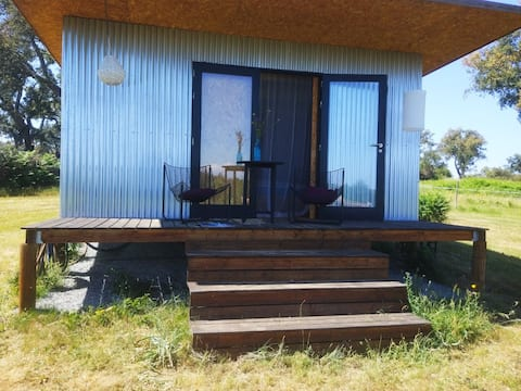 The love shack, cabin with breakfast, shared pool