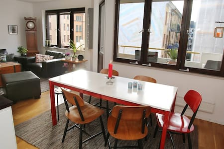 City apartement - minutes from the subway/busses. - Stockholm