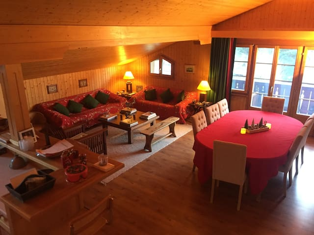 Gstaad - Cozy spacious Flat right in the village - Rougemont - Apartmen