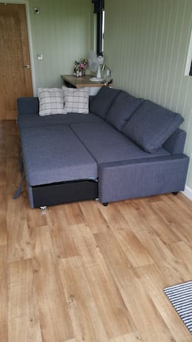 Good size for a sofa bed...