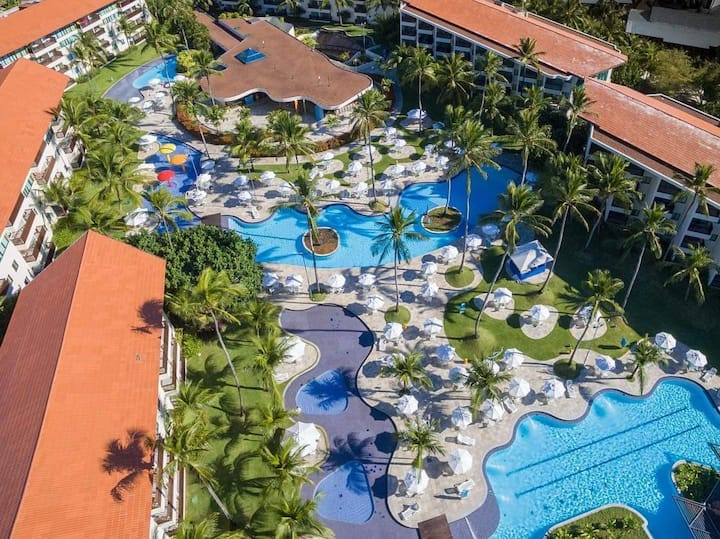 Flat Studio Marulhos Suite Resort 104f