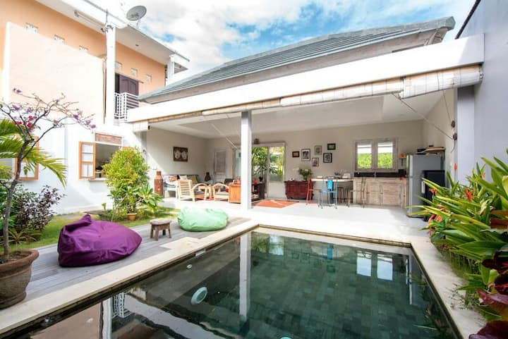 GREAT VALUE!! 2 bedrooms private Villa with a pool