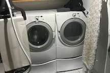 Washer, Dryer and Ironing