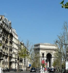 Eiffel Tower & Arc de Triomphe - Paris - Apartamento