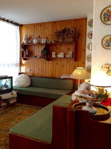 Casa di montagna con giardino nelle Dolomiti