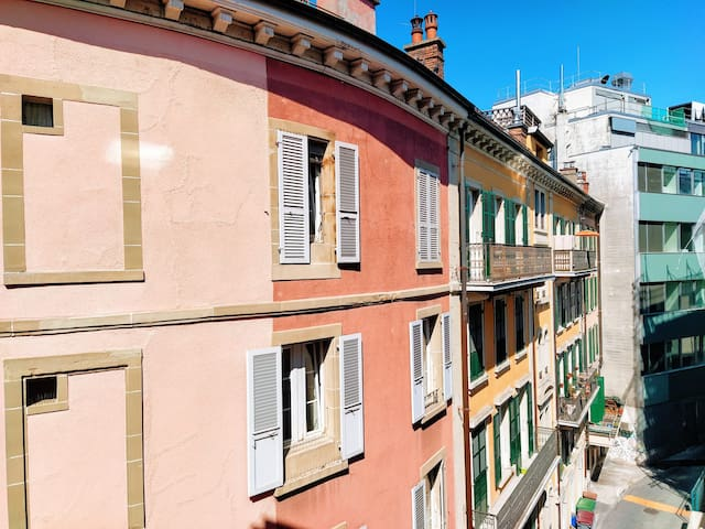 Appartement in the center of lausanne.
