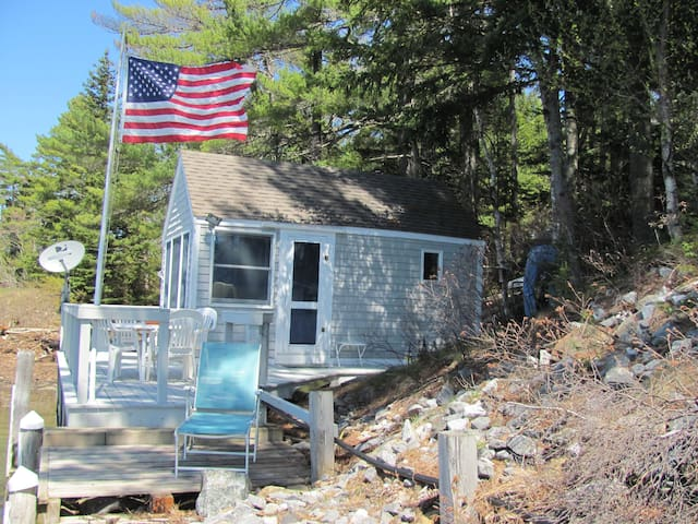 Private, efficient, and updated for your comfort, this cottage is a very special place on the coast of Maine.