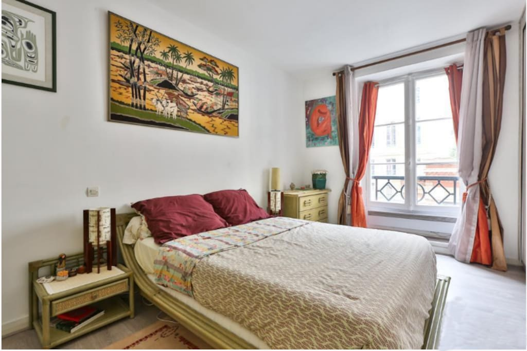 Quit and cosy bedroom - all equiped