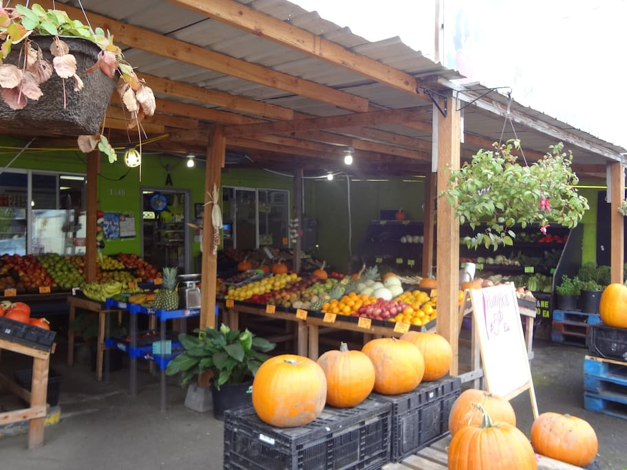 The produce market next door (with mexi-cokes & great fresh salsa!)