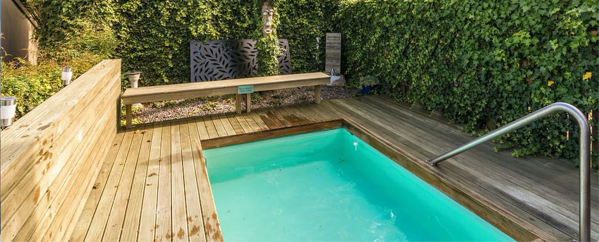 5 Bedrooms with Thermally Heated Plunge Pool