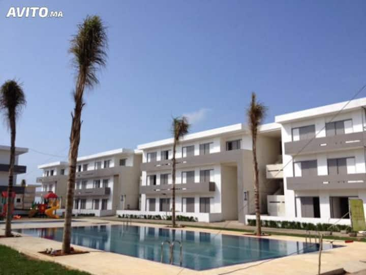 Bel appartement situé à MARBELLA BEACH, Mohammedia